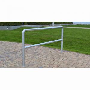 Cykelställ i båge av galvaniserat stål
